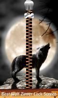 Best Wolf Zipper Lock Screen mobile app for free download