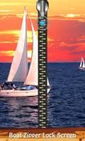 Boat Zipper Lock Screen mobile app for free download