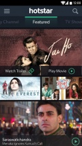 hotstar live TV movies cricket mobile app for free download