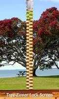 Tree Zipper Lock Screen mobile app for free download