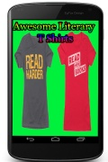 Awesome Literary T Shirts mobile app for free download