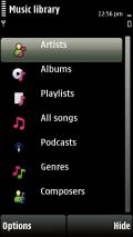 5800 Xpress Music Player mobile app for free download