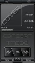 Concept TTPOD SKIN mobile app for free download