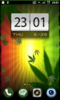 Falling Weed Live Wallpaper mobile app for free download