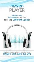 MAVEN Music Player (3D,Lyrics) v1.3.27 mobile app for free download