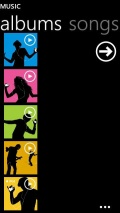 Nokia Lumia Music Player[Deluxe Edition] TTPOD SKIN mobile app for free download