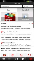 Opera Mini web browser mobile app for free download