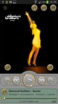 PowerAmp Skin Gold mobile app for free download