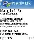 RPanggil v.0.15b. Personal mobile app for free download