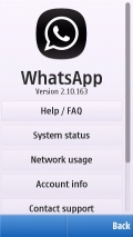 Whatsapp 2.10.163 on m.card latest mobile app for free download
