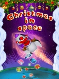 Christmas In Space 240x320 mobile app for free download