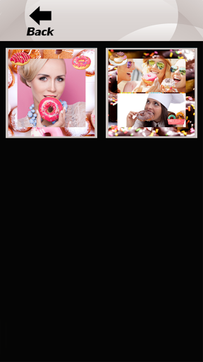 Donuts Photo Collage