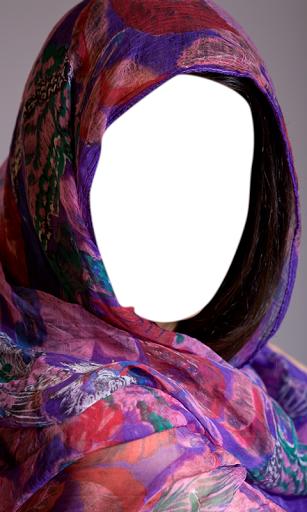 Shawl Woman Photo Editor