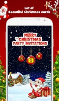 Christmas Party Invitations mobile app for free download