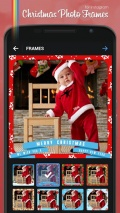 Christmas Photo Frames mobile app for free download
