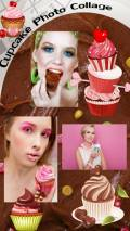 Cupcake Photo Collage mobile app for free download