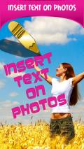 Insert Text On Photos mobile app for free download