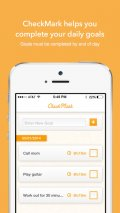 CheckMark Goals mobile app for free download