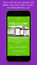 MobisleNotes mobile app for free download