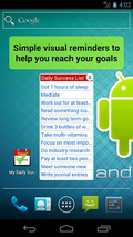 My Daily Success Checklist mobile app for free download