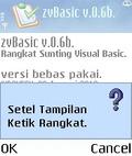 zvBasic v0.6b In mobile app for free download