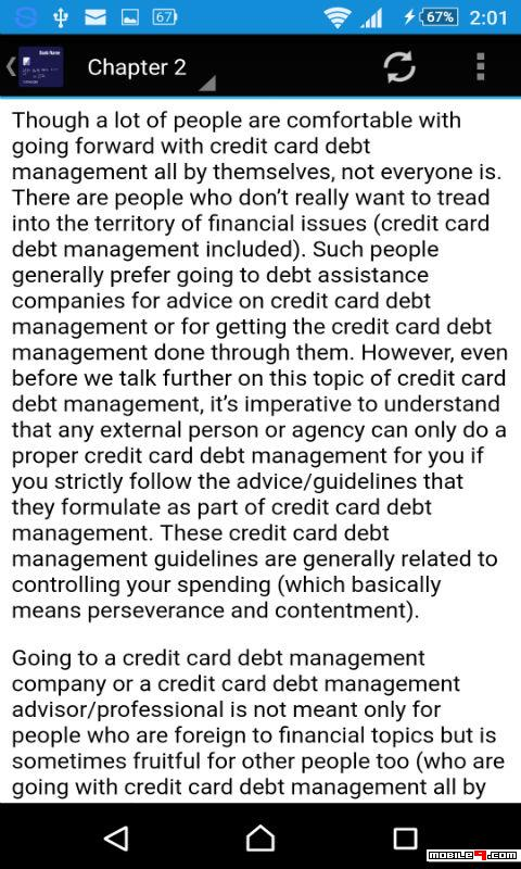 Credit Card Debt Course