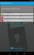 Azure Authenticator mobile app for free download