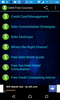 Debt Free Courses mobile app for free download