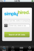 Simply Hired mobile app for free download