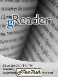 gReader (ebooks reader) mobile app for free download