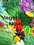 Vegetables Name   320x240 mobile app for free download