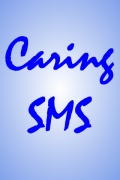 Caring SMS mobile app for free download
