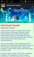 Panduan Tarawih mobile app for free download