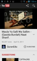 Qasidah Burdah Channel mobile app for free download
