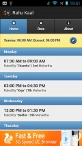 Rahu Kaal mobile app for free download