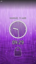 digital Footmark Lock Screen v.0.19.4887 mobile app for free download