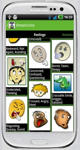 Amazicons   Amazing Emoticons