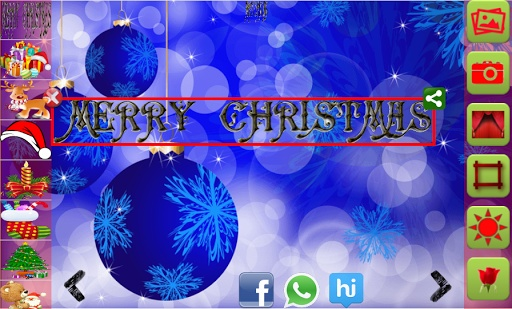 Christmas Greeting Maker 2016