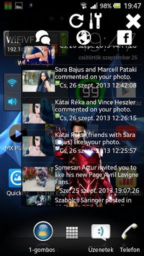 Sidebar For Facebook