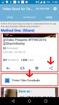 Save Videos For Twitter mobile app for free download