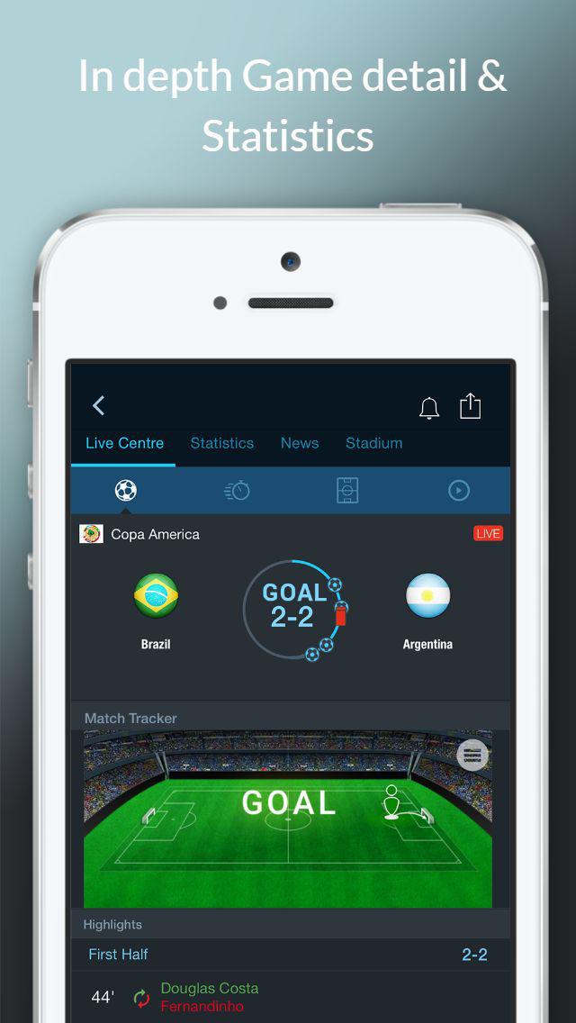 live stream app fußball