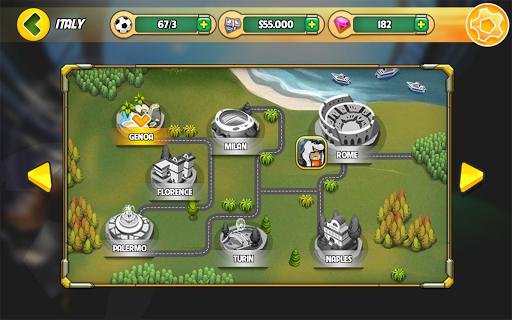 Kung Fu Feet Panda Soccer