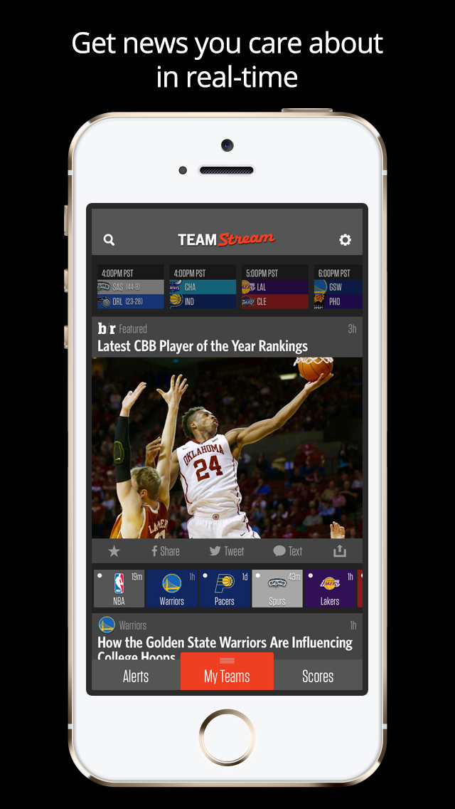 Team Stream   Sports News Scores Alerts  Highlights