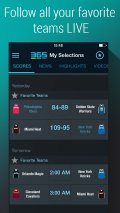 365Scores   Basketball. Soccer, Football Scores & Standings mobile app for free download