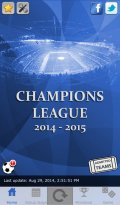 Champions Live 2014 2015 mobile app for free download