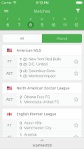 CrowdScores   Livescore   Live Soccer Scores mobile app for free download