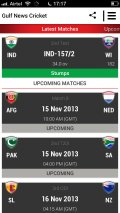 Gulf News Cricket Tracker mobile app for free download