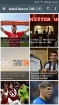 Soccer News mobile app for free download