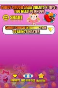 Candy Crush Cheats mobile app for free download