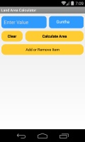 Land Area Calculator mobile app for free download